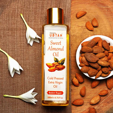 Cold Pressed Extra Virgin Sweet Almond Oil