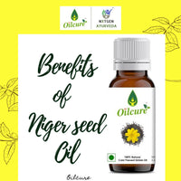 Cold pressed Niger Seed Oil (Pack of 3)