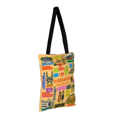 Coloured Hyderabad Cotton Bag