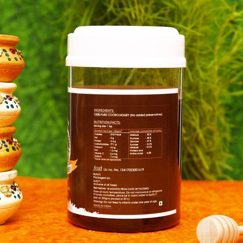 Coorg Honey (100% Natural & Pure)