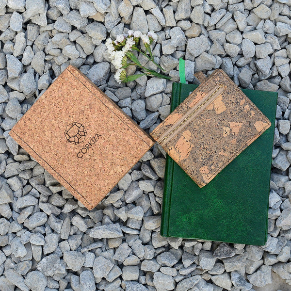 Handcrafted Cork Leather Wallet at Qtrove