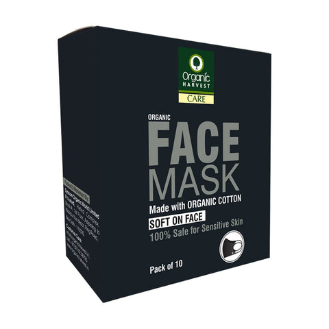 Cotton Face Mask (Pack of 10)
