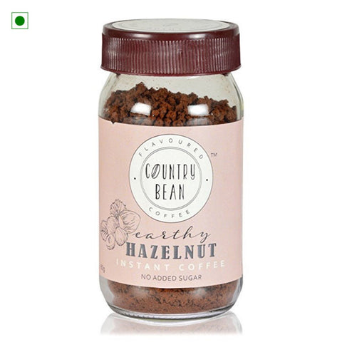Hazelnut Flavoured Instant Coffee Powder(No Added Sugar)