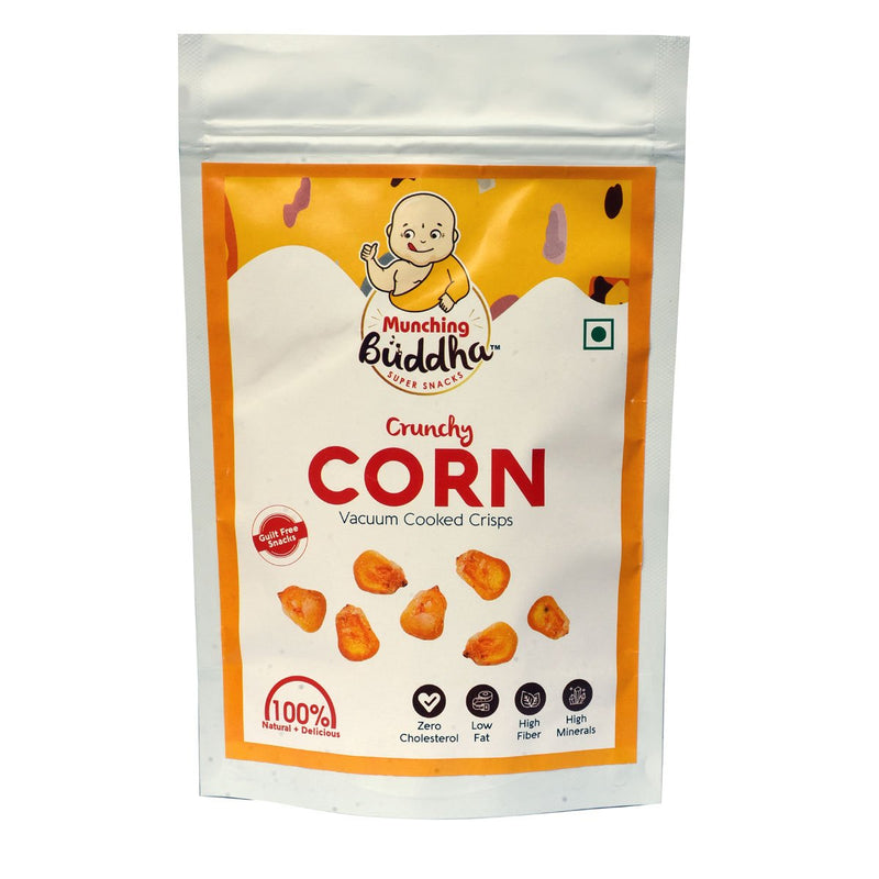 Crunchy Corn Vacuum Cooked Crisps (Pack of 2)