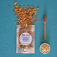 Zero Preservatives Crunchy Granola With Honey And Nuts