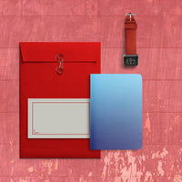 Curio Reversible Notebook (Blue Ombre)