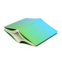 Curio Reversible Notebook (Blue To Green Ombre)