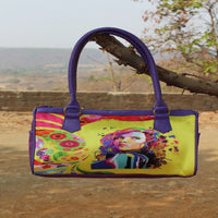 Crafted Digital Print Duffle (Royal Blue)