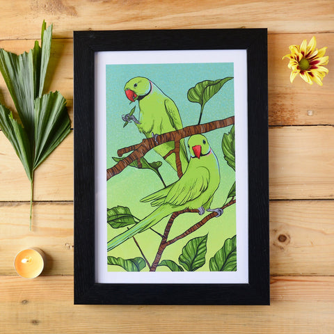 Paarkeet Framed Wall Art