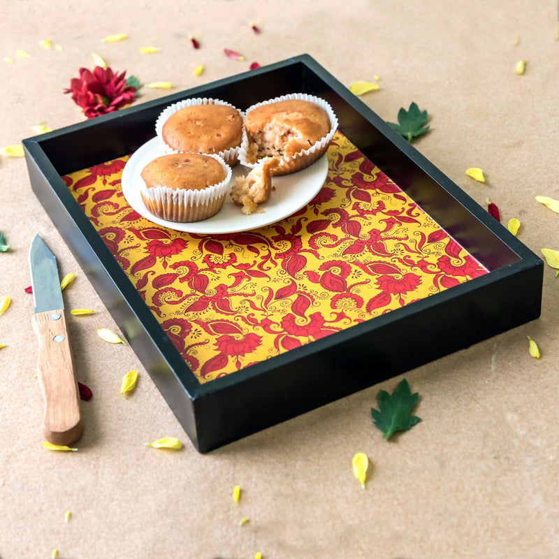 Handcrafted Festivities Small Tray