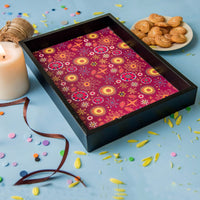 Handcrafted Celebration Small Tray