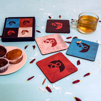 Handcrafted Owl Coaster