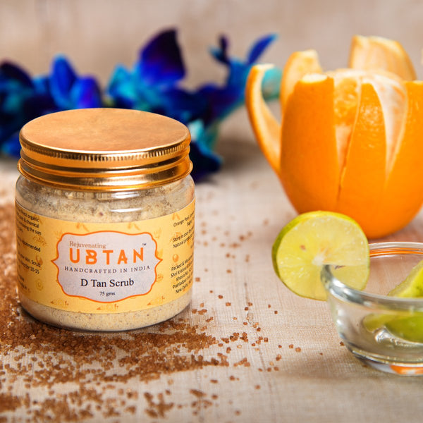 D Tan Scrub (100% Pure & Chemical Free) at Qtrove