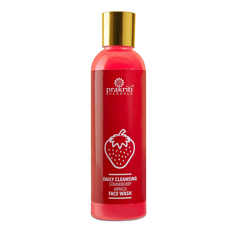 Daily Cleansing Strawberry Arnica Face Wash