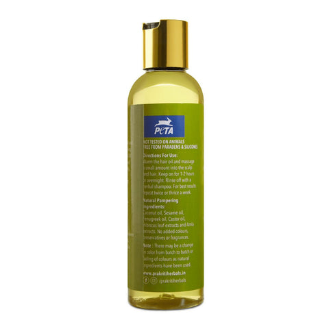 Dandruff Control Fenugreek Hibiscus Hair Oil
