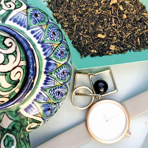 Darjeeling Ginger Black Leaf Wake-Up Tea