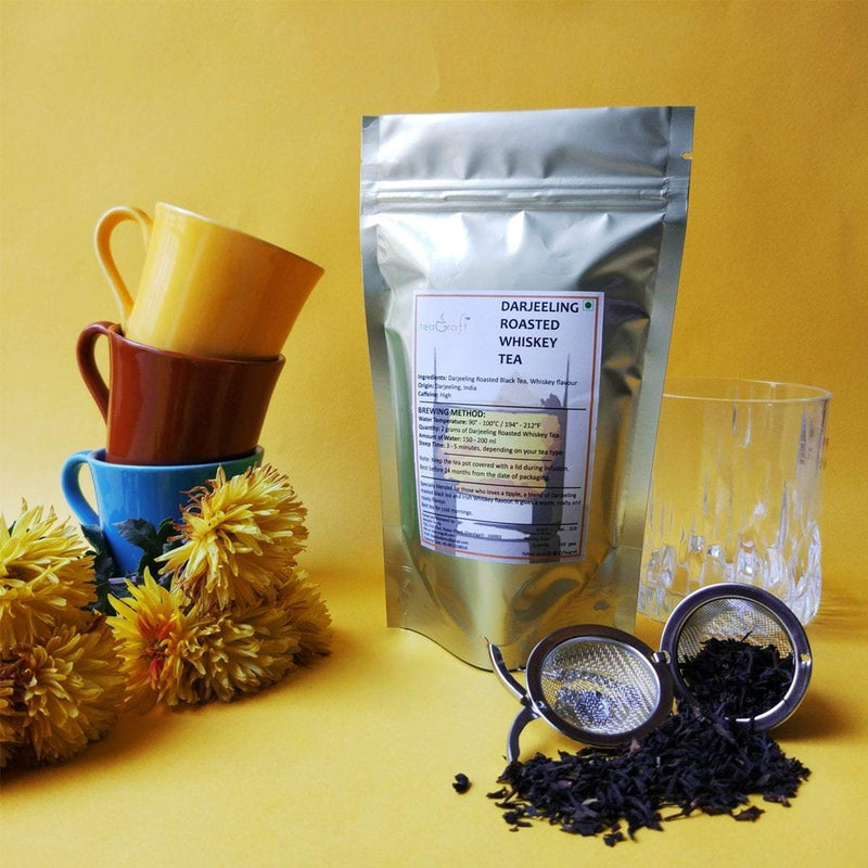 Darjeeling Roasted Whiskey Tea