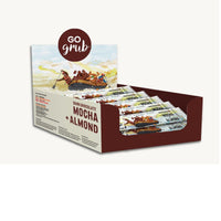 Dark Chocolate Mocha + Almond Snack Bars (Pack of 10)