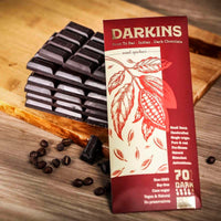 70% Dark Chocolate (Vegan, Gluten free & Natural)