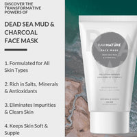 Dead Sea Mud & Charcoal Face Mask