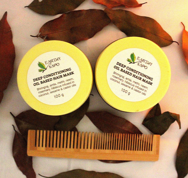 Deep Conditioning Oil Based Pre-Shampoo Hair Mask