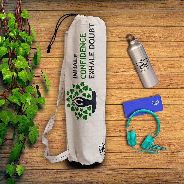 Inhale Printed Yoga Bag at Qtrove