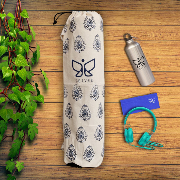 Flower Printed Yoga Bag at Qtrove