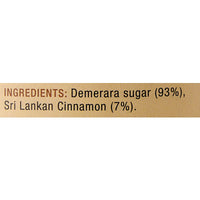 Demerara Sugar Infused With Real Sri Lankan Cinnamon