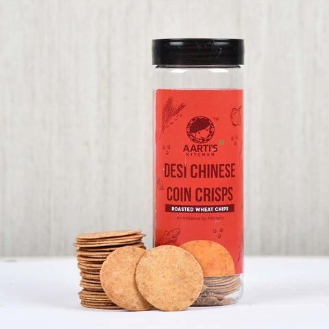 Desi Chinese Coin Crisps (Pack of 2)