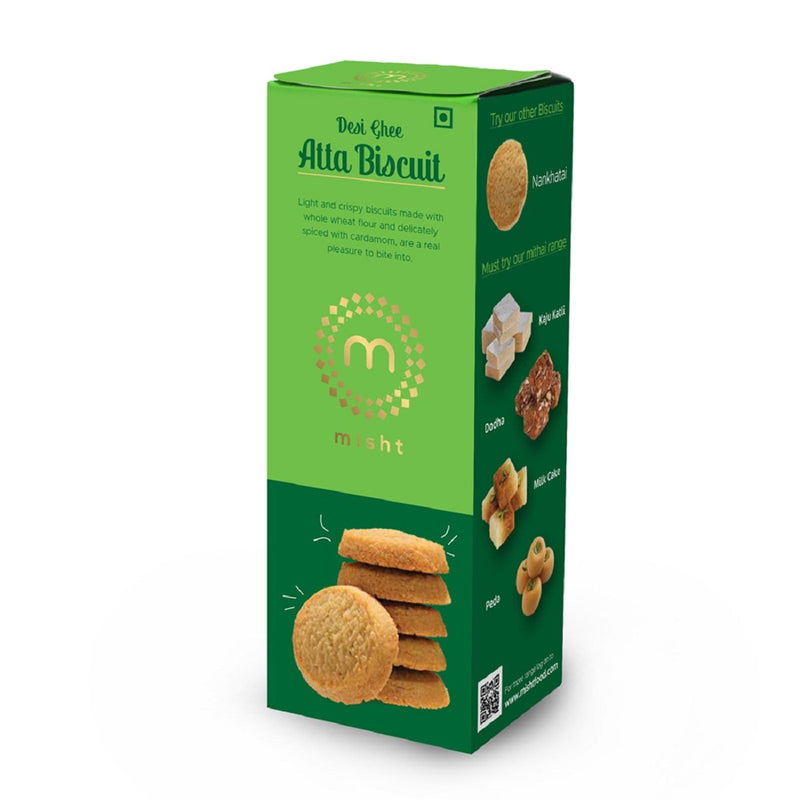 Desi Ghee Atta Biscuit (Pack Of 2)
