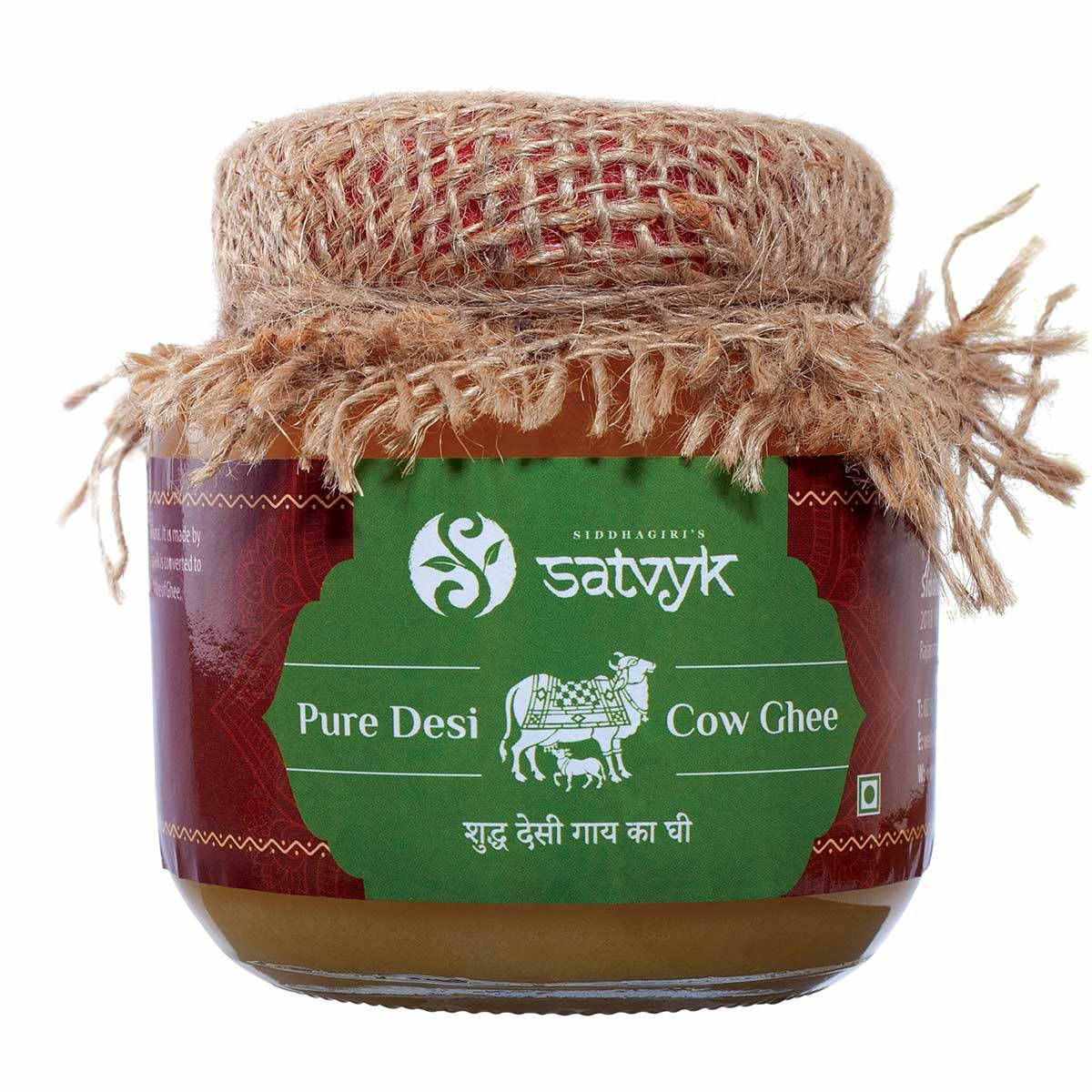 Desi Gir Cow Ghee (Whole Milk Yoghurt Ghee - Bilona)