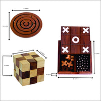 Wooden Mind Games (Combo Pack)