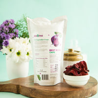 Dried Beetroot Chips (Pack of 4)