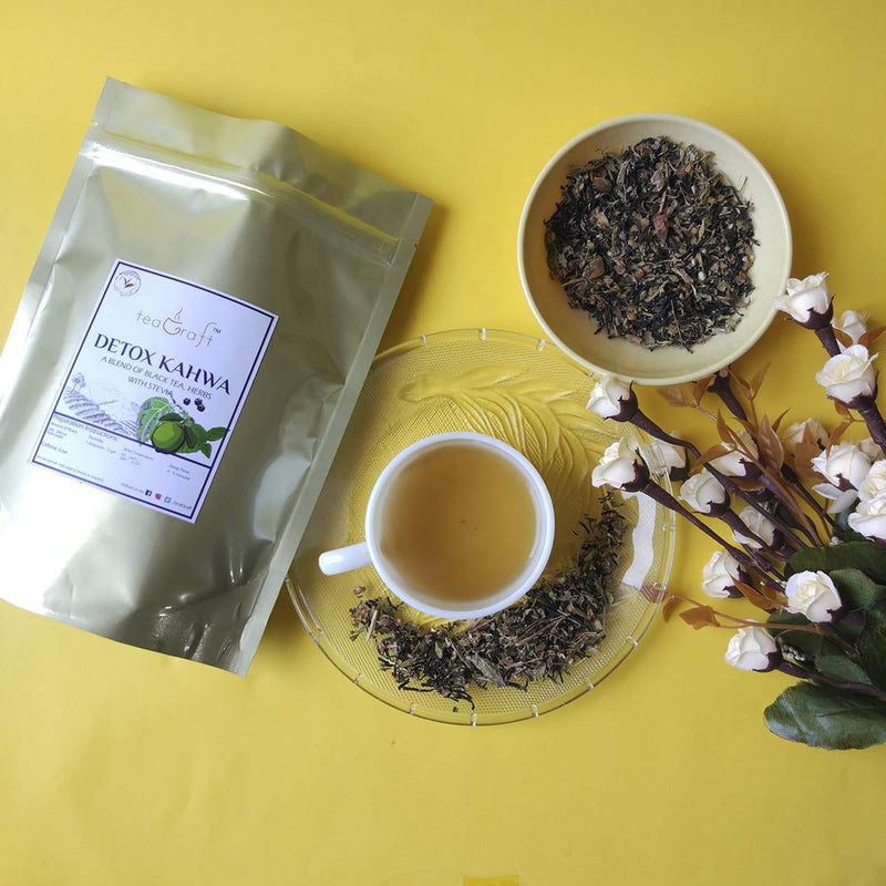 Detox Kahwa (A Blend of Black Tea, Herbs with Stevia)