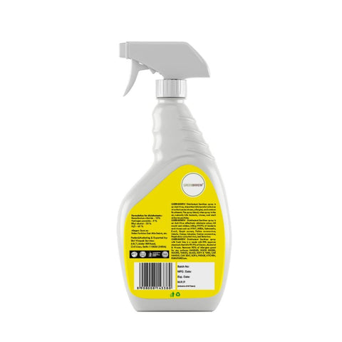 Disinfectant Surface Cleaner Sanitizer Spray (Pack of 2)