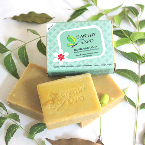 Divine Simplicity Moisturizing Unscented Bathing Soap