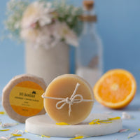 Orange and Gram Flour Soap