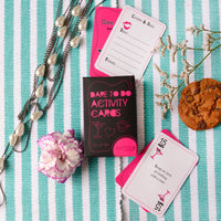 Dare to Do Activity cards