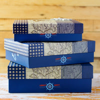 Hat Box (Nautical Anchor) (Set of 3)