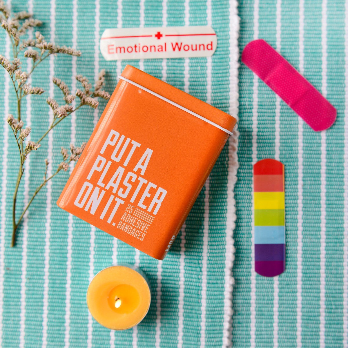 Put a Plaster On It: Band-Aids - Orange