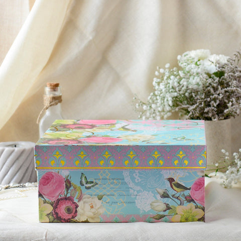 Hat Box (Floral) (Set of 4)