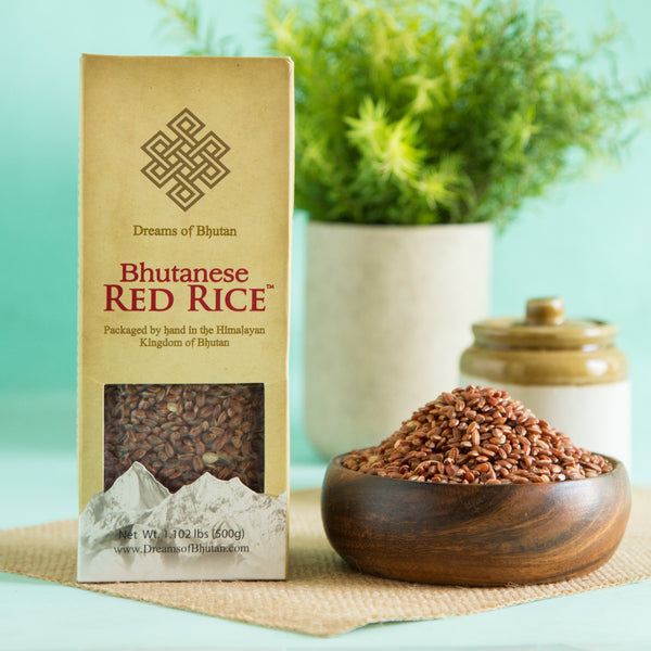Bhutanese Red Rice (Packaged By Hand) at Qtrove