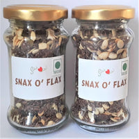 Dry Roasted Flax & Watermelon Seeds With Raisins & Berries (Pack of 2)