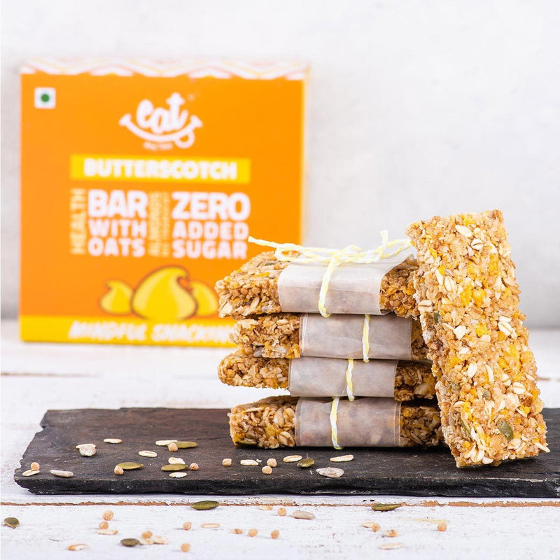 Energy Bars (Butterscotch), 6 x 40 g (Pack of 6)