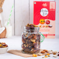 Healthy Trail Mix (Cranberries & Orange Zest)
