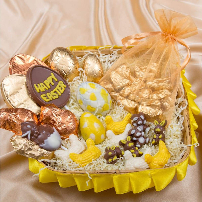 Eggciting Chocolate Basket