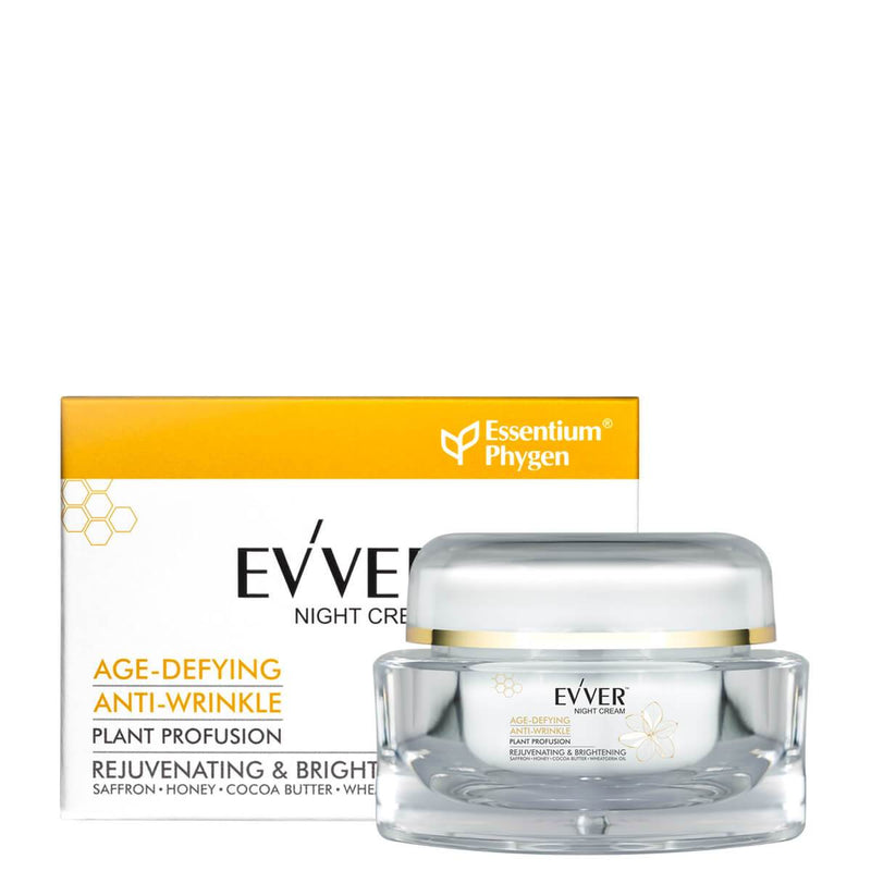 Night Cream Age Defying Anti Wrinkle With Saffron