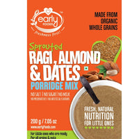 Organic Sprouted Ragi, Almond & Date Porridge Mix