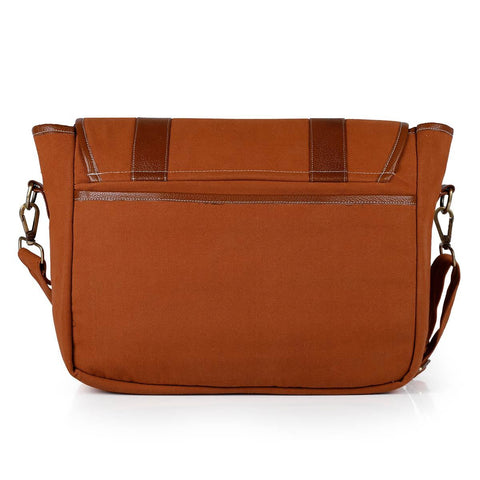 Laptop Shoulder Messenger (Cinnamon)
