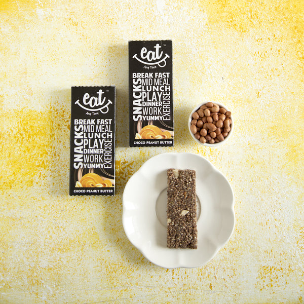 Zero Cholesterol Chocolate Peanut Butter Granola Bars (Pack of 6) at Qtrove